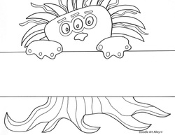 Name Templates Coloring Pages