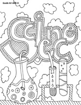 Science Coloring Page