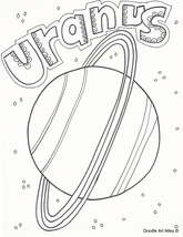 Solar System Coloring Pages & Printables - Classroom Doodles