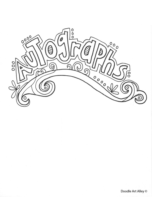 End of the Year Coloring Pages & Printables - Classroom Doodles