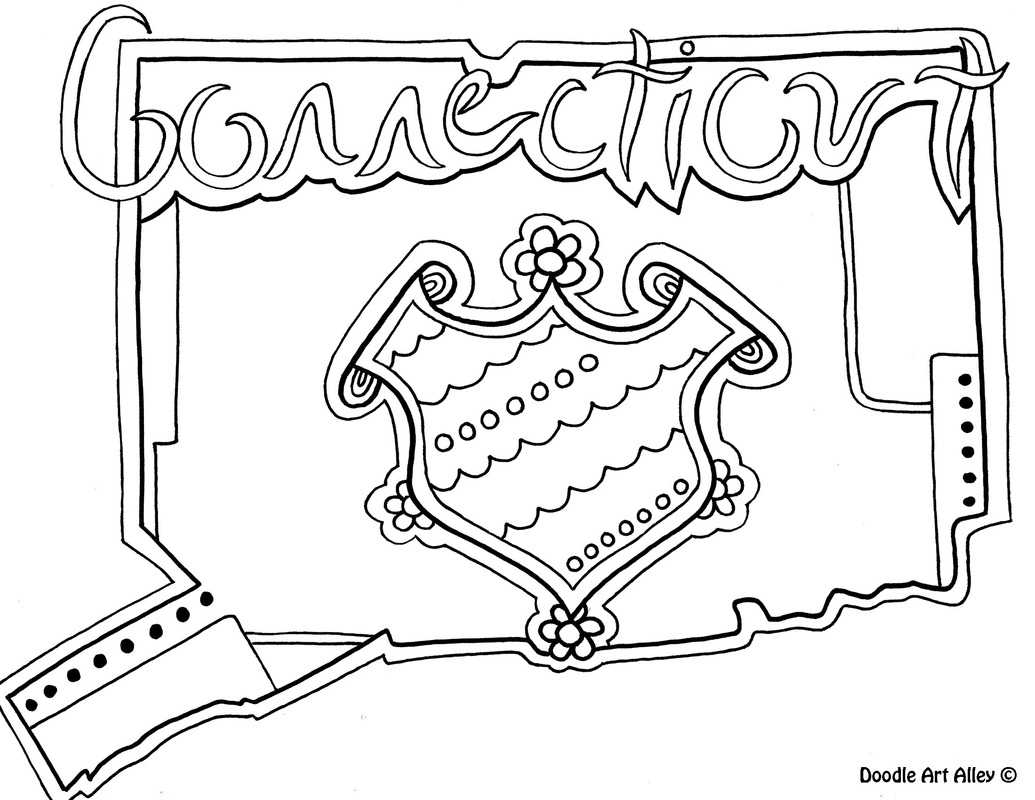 picture - Coloring Page United States