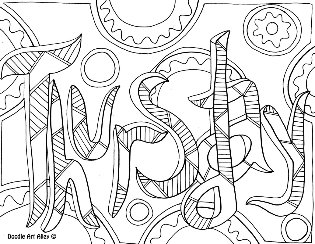 page a day calendar coloring pages - photo #42