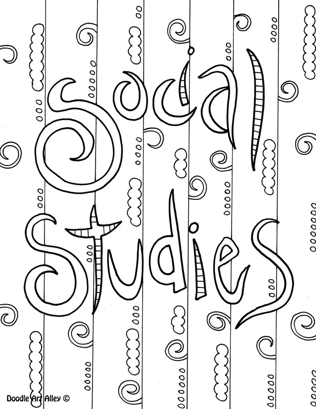 social studies coloring page