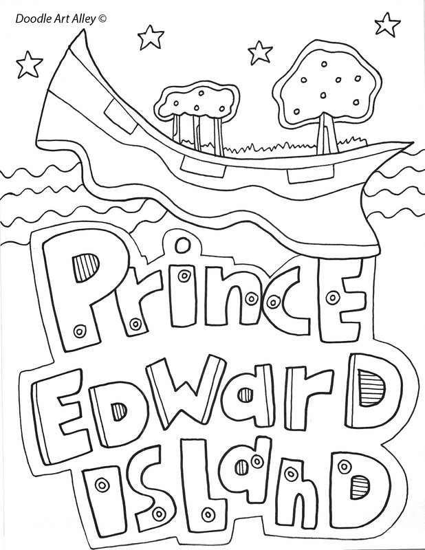 canada coloring pages and printables
