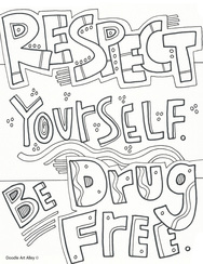 cocaine toucher coloring pages - photo#30
