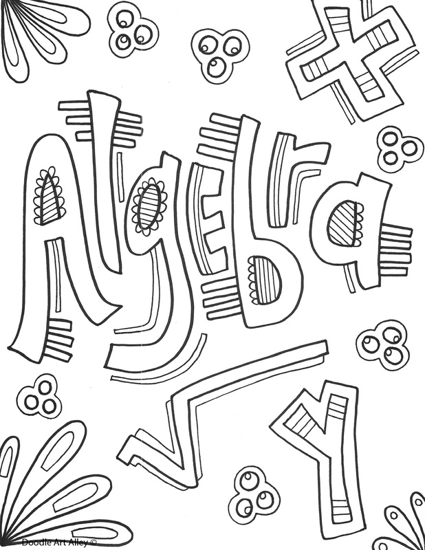 math coloring pages.html