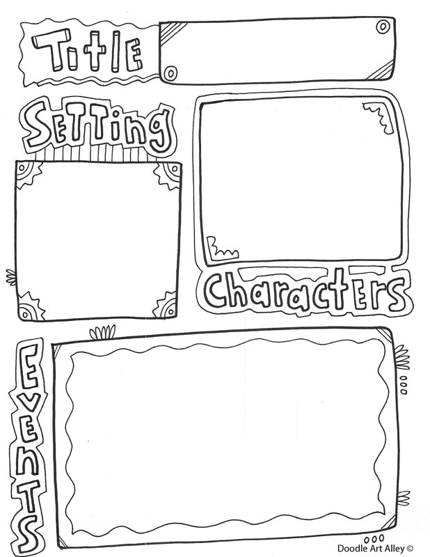 Book Report Printables - Classroom Doodles