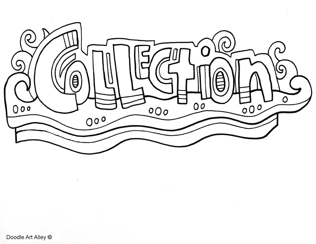 Collections Coloring Page