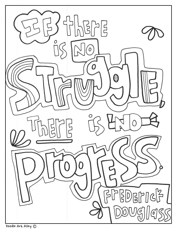 Refreshing image inside black history month printable coloring pages