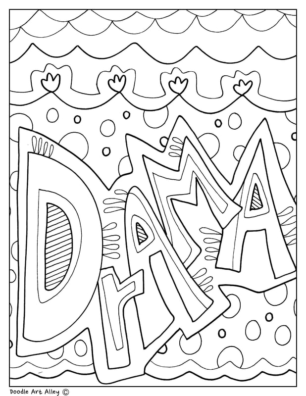 Subject Cover Pages Coloring Pages Classroom Doodles