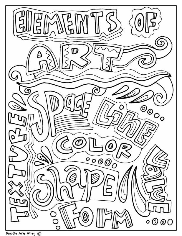 arts coloring pages - photo#4