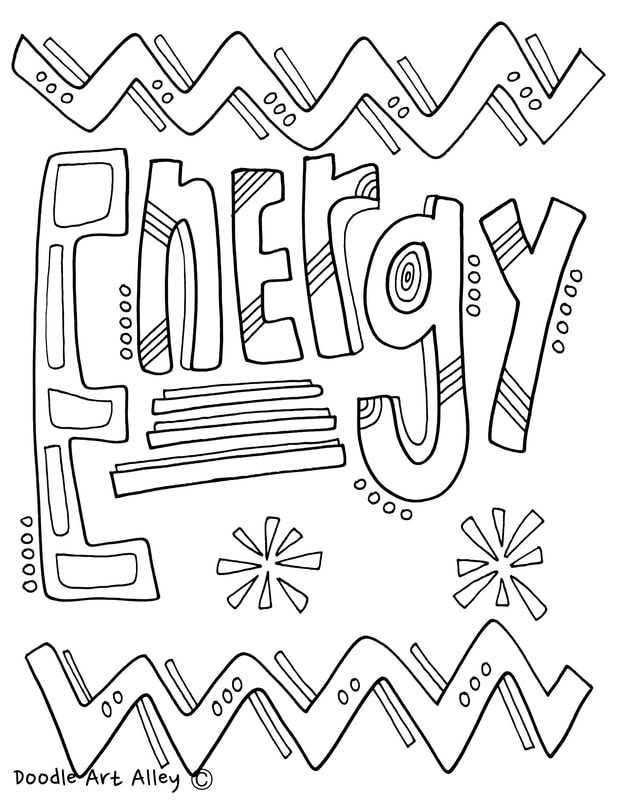 Science Coloring Page For Binder