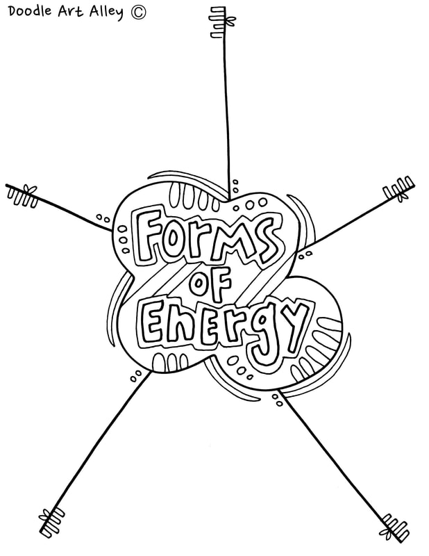 Energy Coloring Pages & Printables - Classroom Doodles