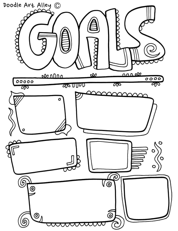 image relating to Goals Printable named Function Ecosystem Coloring Internet pages - Clroom Doodles
