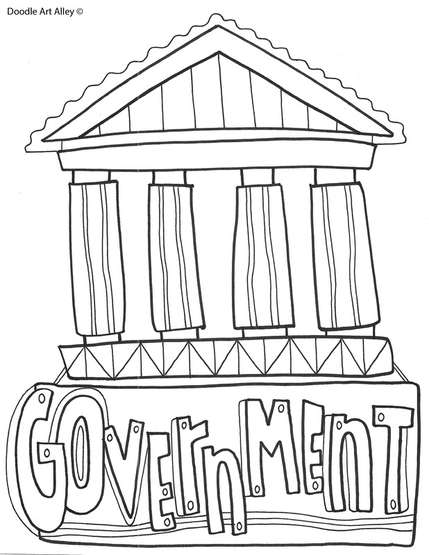 geography coloring page picture