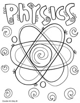 Science Printables and Coloring
