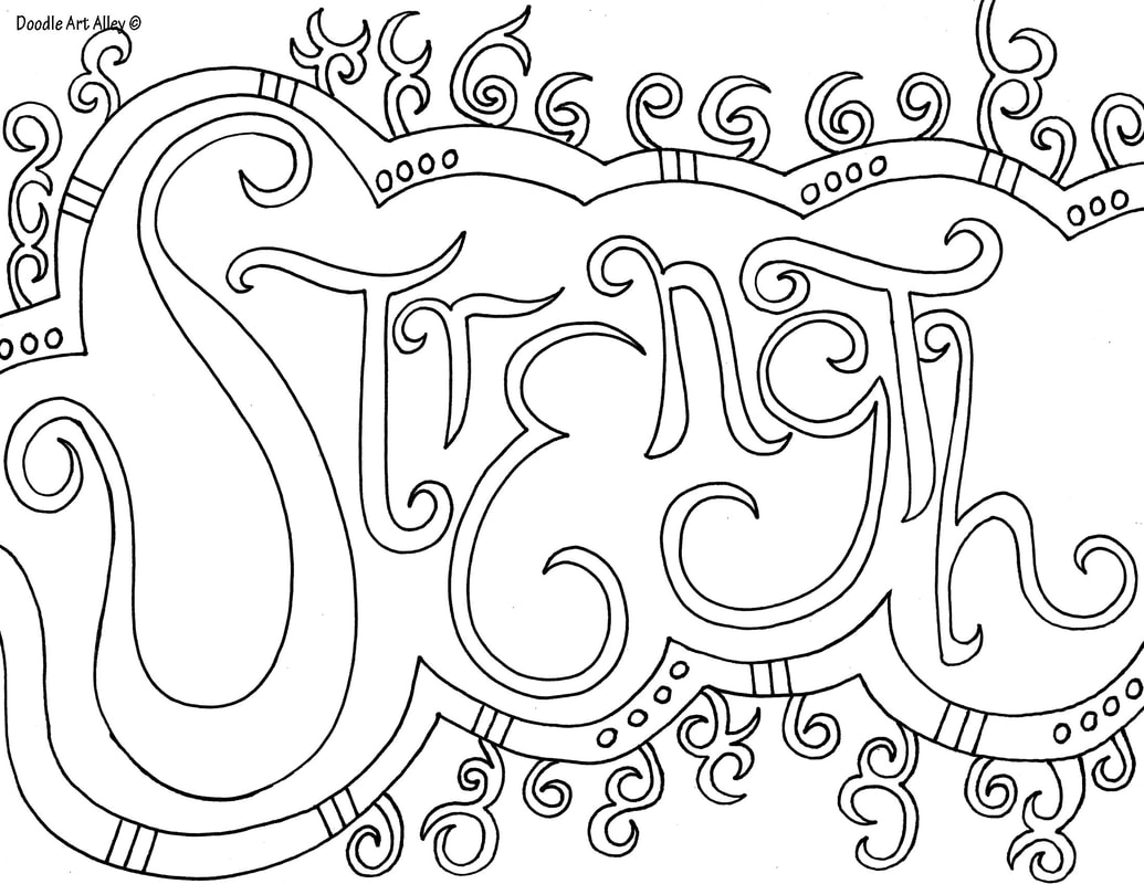 This is an image of Impertinent Word Coloring Pages Printable