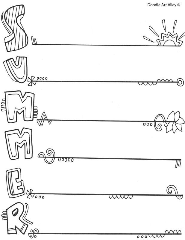 Summer Coloring Pages Amp Printables