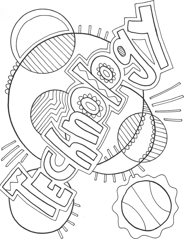 technology coloring pages - photo#2