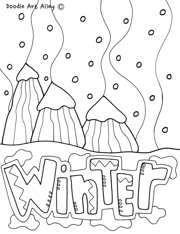 seasons coloring pages  u0026 printables