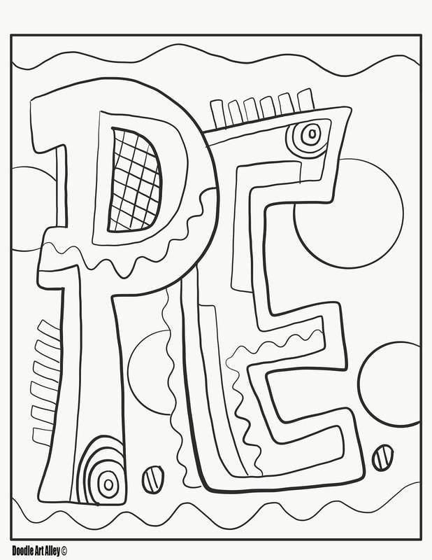 - P.E. Coloring Pages - Classroom Doodles
