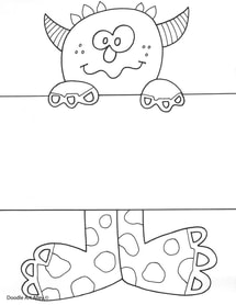 Name Templates Coloring Pages - Classroom Doodles
